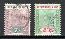 More details for leeward islands 1890 7d and 1s fu cds