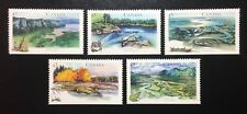 "Canada #1511-1515 Bottom MNH, Heritage Rivers ""4"" Set of Stamps 1994"