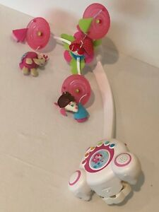 Tiny Love Princess Baby Crib Mobile Pink Soothe N Groove Lullaby Music Lights