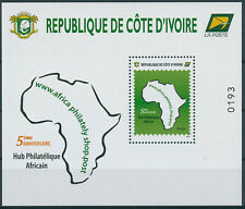 Ivory Coast 2021 MNH Philately Stamps African Philatelic Hub 5th Anniv 1v M/S