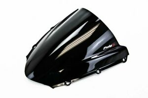 04-07 Honda CBR1000RR Puig Racing Windscreen, Black  1665N