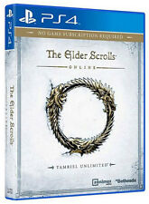 The Elder Scrolls Online Tamriel Unlimited PS4 Game BRAND NEW SEALED