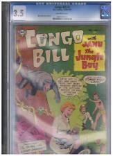 DC Comics Congo Bill #3 CGC 3.5 VG- 1954 - Scarce