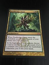 MTG MAGIC DRAGON'S MAZE DEADBRIDGE CHANT (ENGLISH CHANT DE MORTEPONT) NM