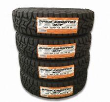 "4x 145/80R12 Toyo Open Country R/T (145R12 6PR) 12"" Tires Snow Mud Suv Tire"