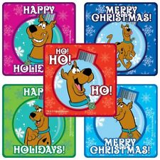 Scooby Doo Christmas Stickers x 5 - Collectors Santa Stocking Christmas Cards