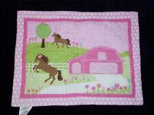 Circo Target Pretty Horses Standard Twin Pillow Sham Barn Dots Flowers