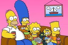 The Simpsons Cast FRIDGE MAGNET (2 x 3 inches)(AA)