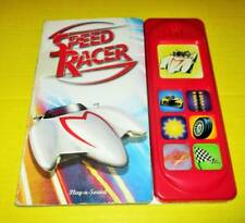 SPEED RACER Sound Book INTERACTIVE Board Book Play-A-Sound
