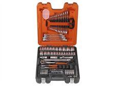 Bahco BAHS106 S106 Socket & Spanner Set of 106 Metric 1/4 & 1/2in Drive