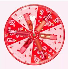 Lime Crime Spin The Dial Lip Set- 3 Gloss & 3 Matte Mini Lip Bundle