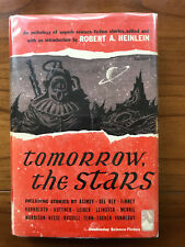 Tomorrow The Stars, Robert A. Heinlein (Editor)-1952-1st Ed.1st Ptg.Vtg H/C Book