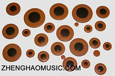 SELMER MARK VI ALTO SAX Brown Plastics Resonator Saxophone pads
