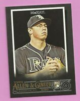 2020 Topps Allen & Ginter X Brendan McKay RC #207 Tampa Bay Rays