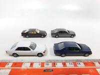 CG506-0,5# 4x Herpa H0/1:87 PKW Mercedes-Benz/MB: 600 SEC + 600 SEL, NEUW