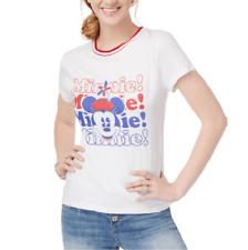Disney Womens Minnie Graphic T-Shirt Size L