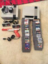 Nintendo NES console bundle w/ 2 Boxed Games
