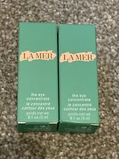100% Authentic La Mer Eye Concentrate 3ml Sample x 2 Brand New In Box