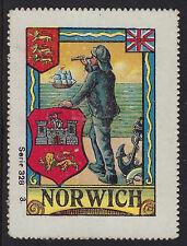 Norwich : Poster Label - Norwich