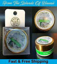 Hawaiian GARDENIA SOLID PERFUME in JAR by Forever Florals, .45 Oz, New In Box