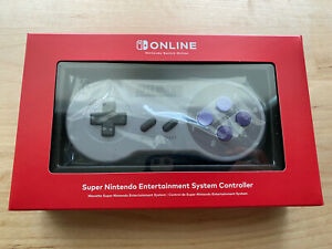 Nintendo Switch Online Super Nintendo SNES Controller - NEW AND SEALED