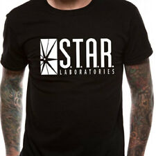 The Flash OFFICIAL T-Shirt Star Labs Bloodwork Godspeed Arrow All Sizes SALE