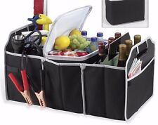 Portable Collapsible Folding Flat Trunk Organizer For Car SUV Truck With Cooler