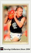 2007 Select AFL Hall Of Fame Series 3 HOF Card HF165 Craig Bradley (Carlton)