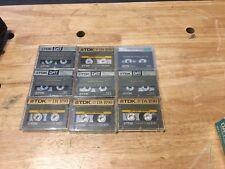 9 Used Tdk Da-R90 Digital Audio Tape.Free Shipping.High Intensity