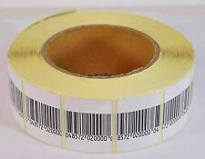 Eas Anti-Theft Checkpoint Security Soft Label Tag 1000Pcs Rf 8.2 Mhz (30Mmx4 00006000 0Mm)