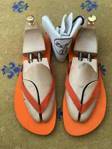Hermes Mens Shoes Sandals Flip Flop Orange UK 10 US 11 EU 44