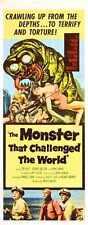 Monstruo que impugnó el mundo Poster 02 A4 10x8 impresión fotográfica