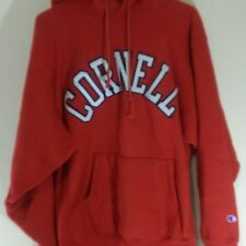 Vintage Cornell University Men's Size XL Champion Reverse Weave Hoodie Big Red