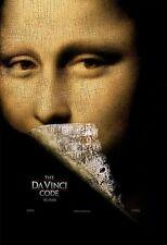 "DA VINCI CODE ""A"" 11.5x17 PROMO MOVIE POSTER - TOM HANKS"