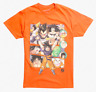 Dragon Ball Z GROUP 30TH ANNIVERSARY T-Shirt NEW Authentic & Official