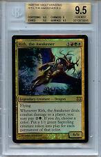 MTG Rith, the Awakener BGS 9.5 Gem Mint FTV Dragons Magic Foil Amricons 8695