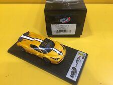 BBR MODELS BBRC161A - Ferrari 458 Speciale A 2014 Giallo Tristrato/Blue Stripe