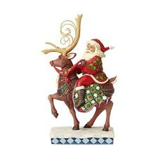 Jim Shore - Santa Riding Reindeer Christmas - Heartwood Creek 6001471