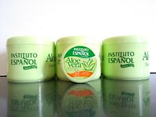Body Cream with Aloe Vera Instituto Espanol 400ml x 3  PLUS 50ml Travel Size x 1