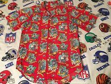 Vintage 90's Disney Blizzard Beach Park Employee Hawaiian Button Down Shirt Sz S