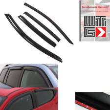 4pc Smoke Window Visor Rain Vent Shade Guard 2002-2009 Chevrolet Trailblazer EXT