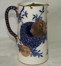 M} Grand pichet ancien CERAMIQUE ANGLAISE English porcelain old pitcher