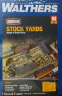 """Walthers HO 933-3047 Stock Yards - 2 Pens -- Kit - 9 x 7"""" 22.9 x 17.8cm"""