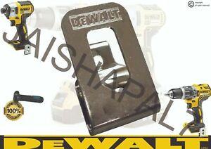 DeWALT Belt Clip Hook & Screw XR range