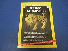 National Geographic Magazine , January 1974, Gold, The Eternal Treasure,Laos