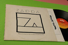 FRANK ZAPPA LP SHIP ARRIVING...HOLLAND 1982 EX+