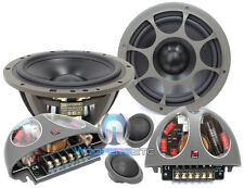 "MOREL HYBRID 602 6.5""  CAR 2WAY COMPONENT SPEAKERS MIDS CROSSOVERS TWEETERS NEW"