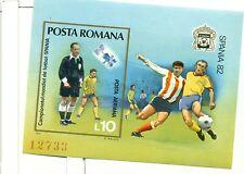 CALCIO - FOOTBALL SPAIN '82 ROMANIA 1981 block