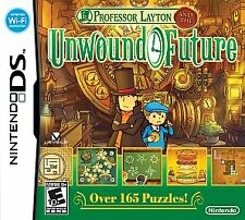Professor Layton and the Unwound Future (Nintendo DS, 2010) - New - Factory Seal