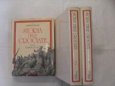 AAVV - STORIA DELLE CROCIATE 3 VOLUMI - ED.DOMUS - 1°ED.1978